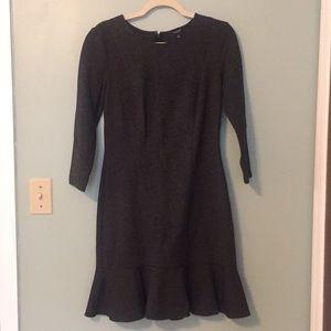 Ann Taylor Ruffle Dress